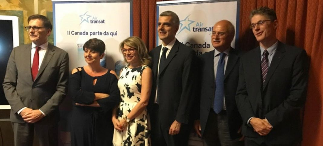 Air-Transat-LR-Mr.-Gilles-Ringwald-Fausto-Palombelli-toinen-R: stä