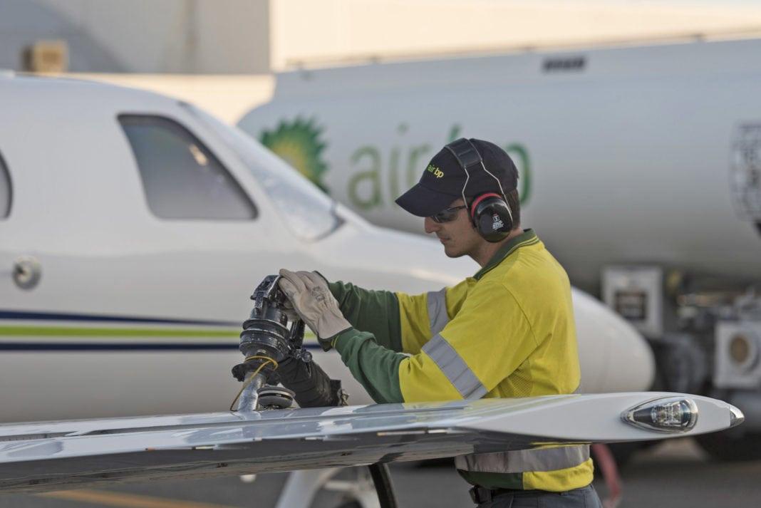 Air_BP_refuels_an_operators_aircraft_air_in_Australia