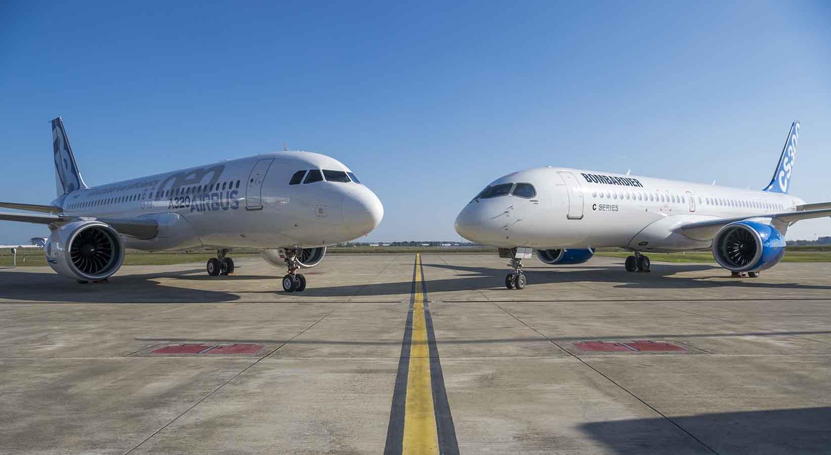 Airbus-og-bombardier