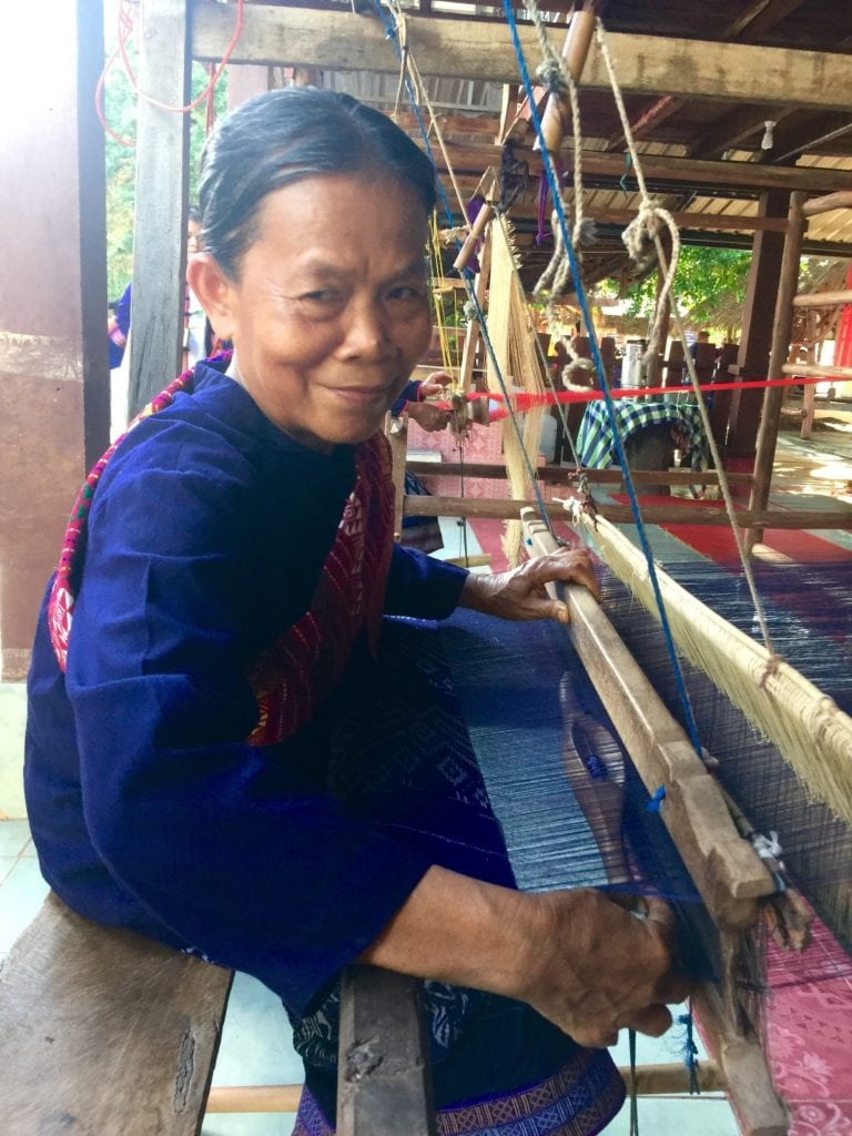 Mekong-Tourism-Forum-A-village-weaver-in-Nakhon-Phanom