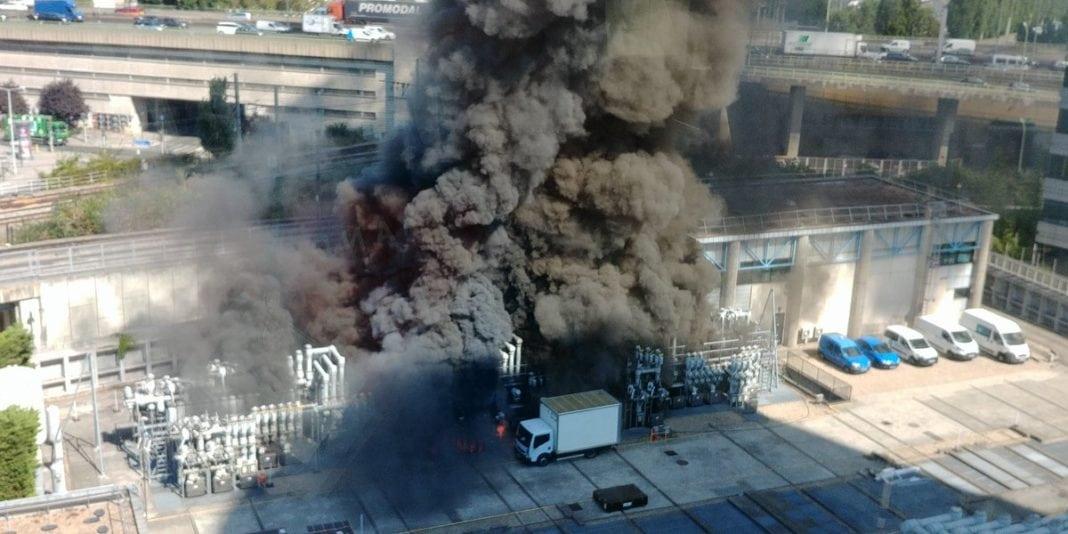 Paris-train-fire