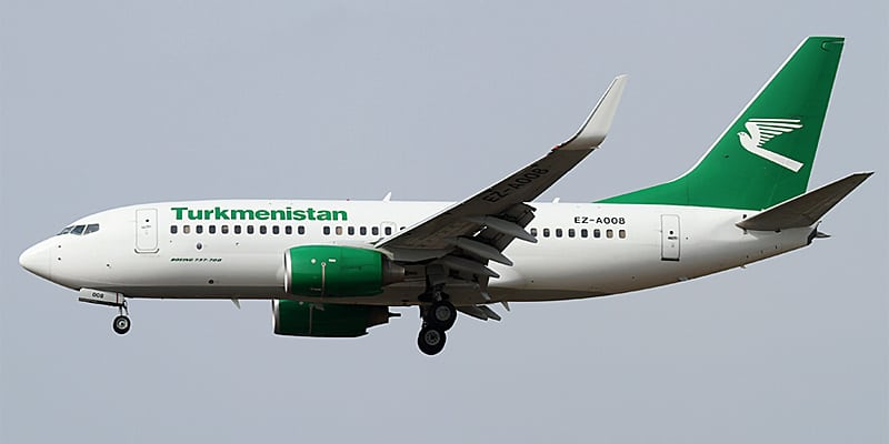 Turkmenistan Airlines resumes Abu Dhabi flights
