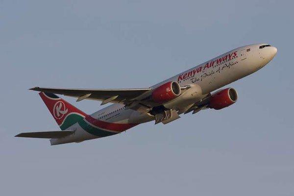Kenya-Airways-plane-taking-off