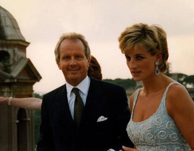 Eier-president-og-daglig leder-Roberto-E.-Wirth-med-avdøde-Diana-prinsesse-av-Wales-på-hotellet-Hassler-Roma-i-1996