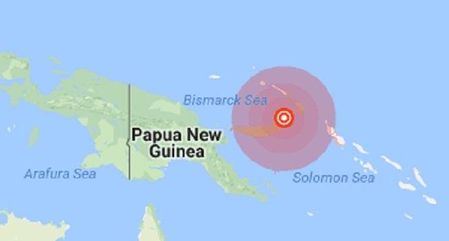 زلزال بابوا غينيا الجديدة