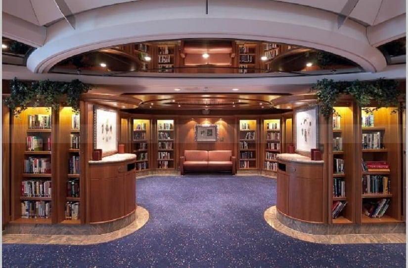 Tranon-tsambo Royal-Caribbean-cruise-ship-library