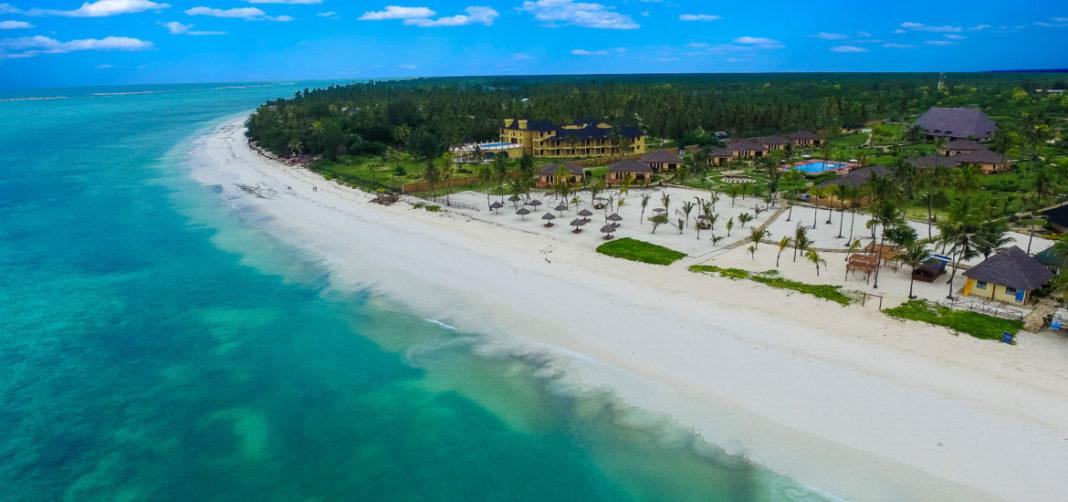Zanzibaro-Strandflanko
