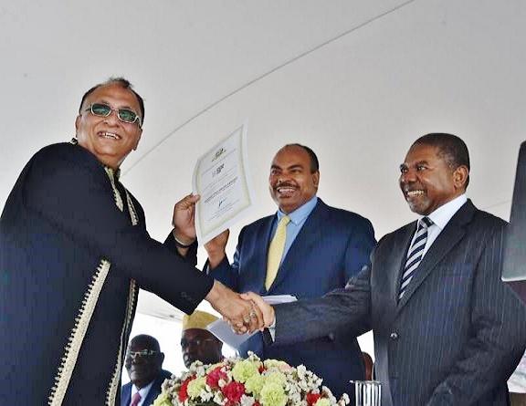 Zanzibaro-Prezidanto-disdonado-atestilo