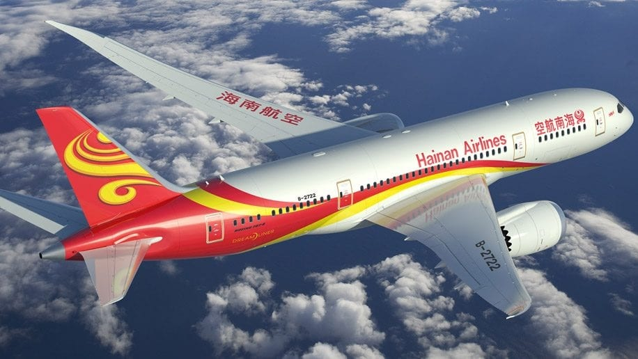Hainan Airlines to launch Xi'an-Los Angeles service