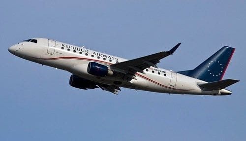 Republic Airways orders 100 Embraer E175 jets