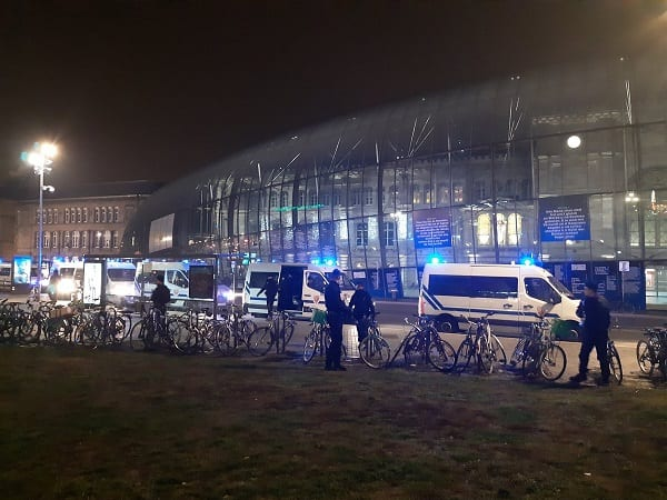 'Suspicious package' triggers evacuation of Strasbourg main train station