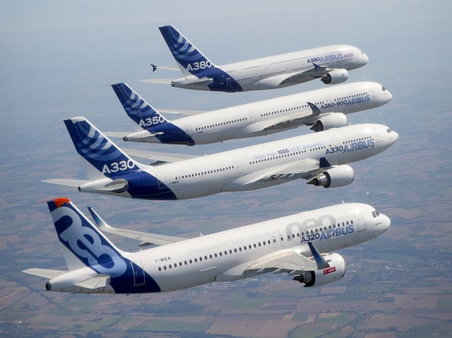 Airbus: 43 aircraft booked, 89 delivered in November