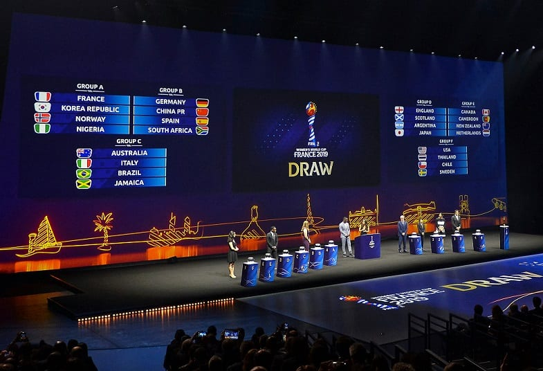 Qatar Airways applauds the draw for 2019 FIFA Women's World Cup