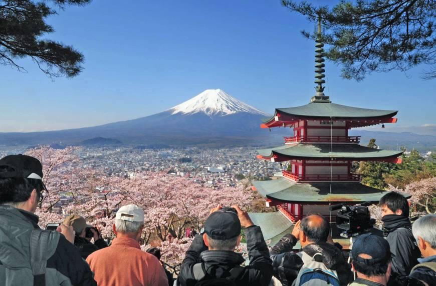 السياحة اليابانية