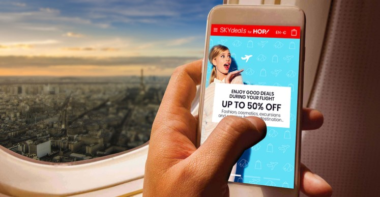 SKYdeals launches first experience of Inflight Shoppertainment