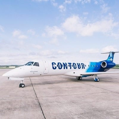 Contour Airlines nearly doubles the size of its regional jet fleet