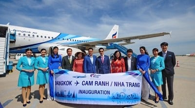Bangkok Airways flies into Cam Ranh, Vietnam