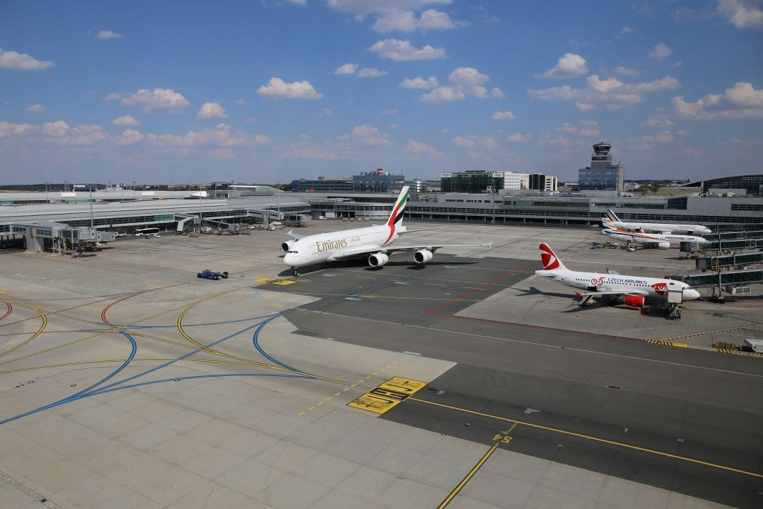 Prague airport continues to grow with 16.8 million passengers in 2018