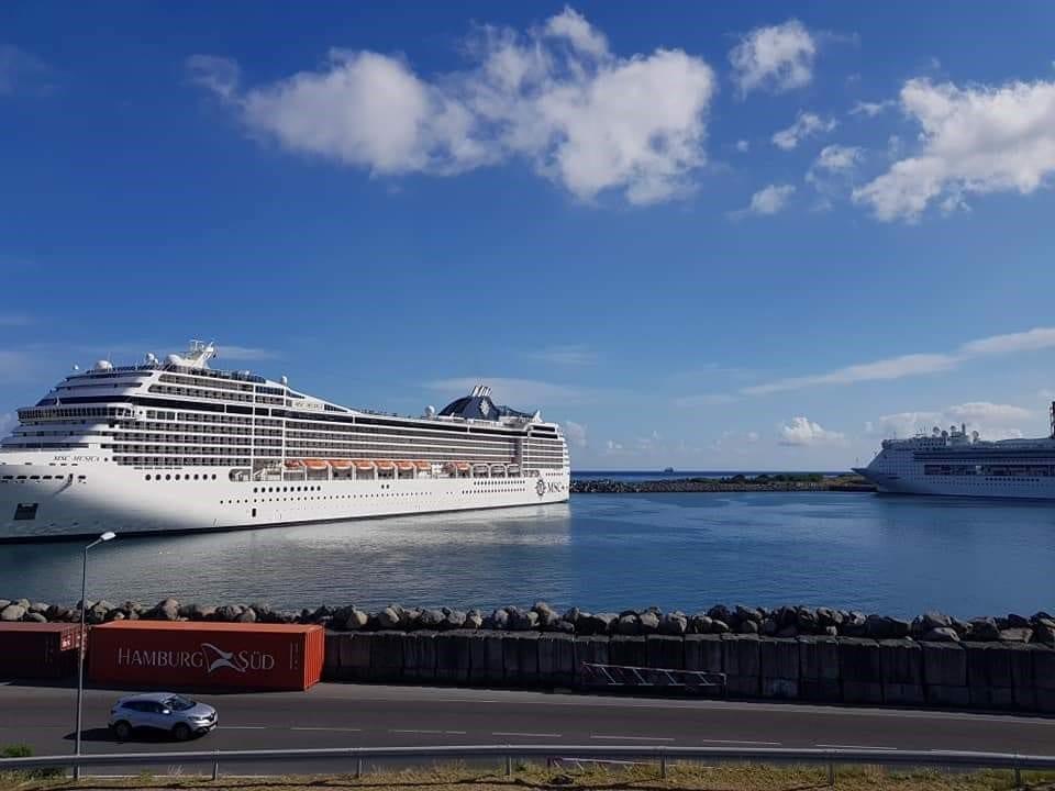 السفن السياحية في ريونيون