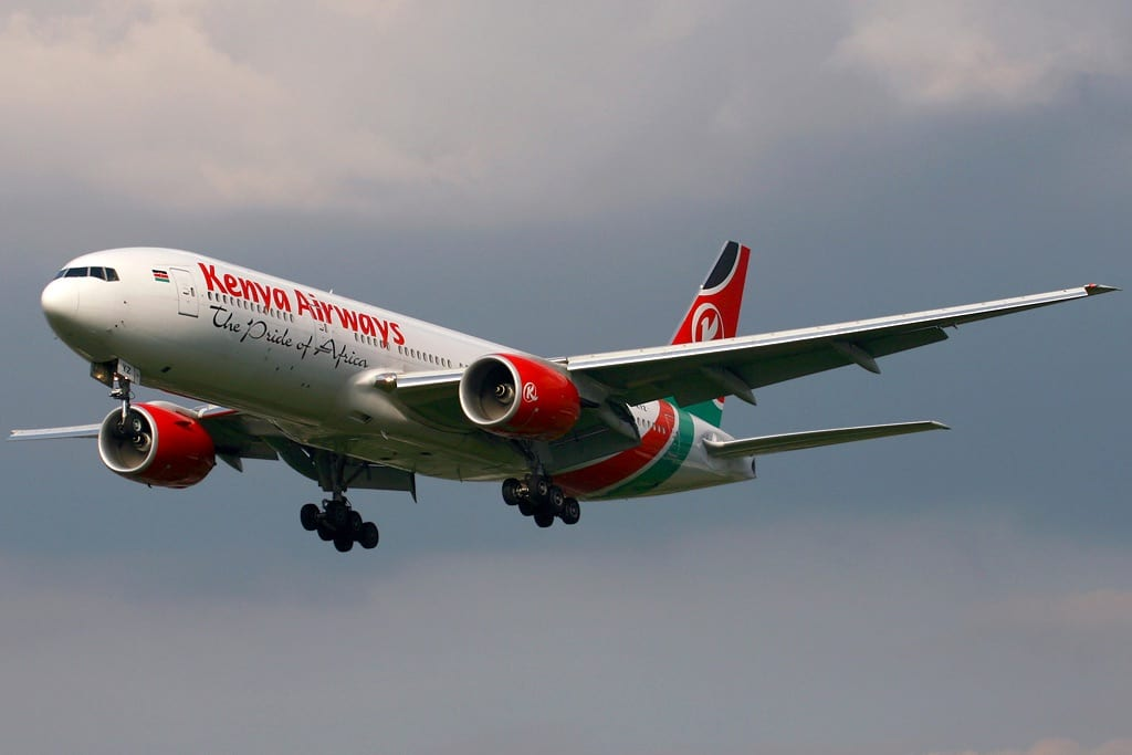 Kenya Airways,