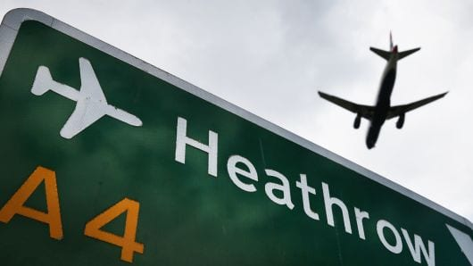 No drone collision with British Airways jet at Heathrow
