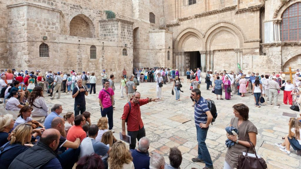 Over 4 million tourists visited Israel last year