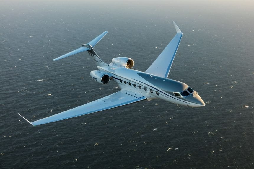 Gulfstream G650ER sprints from Singapore to San Francisco