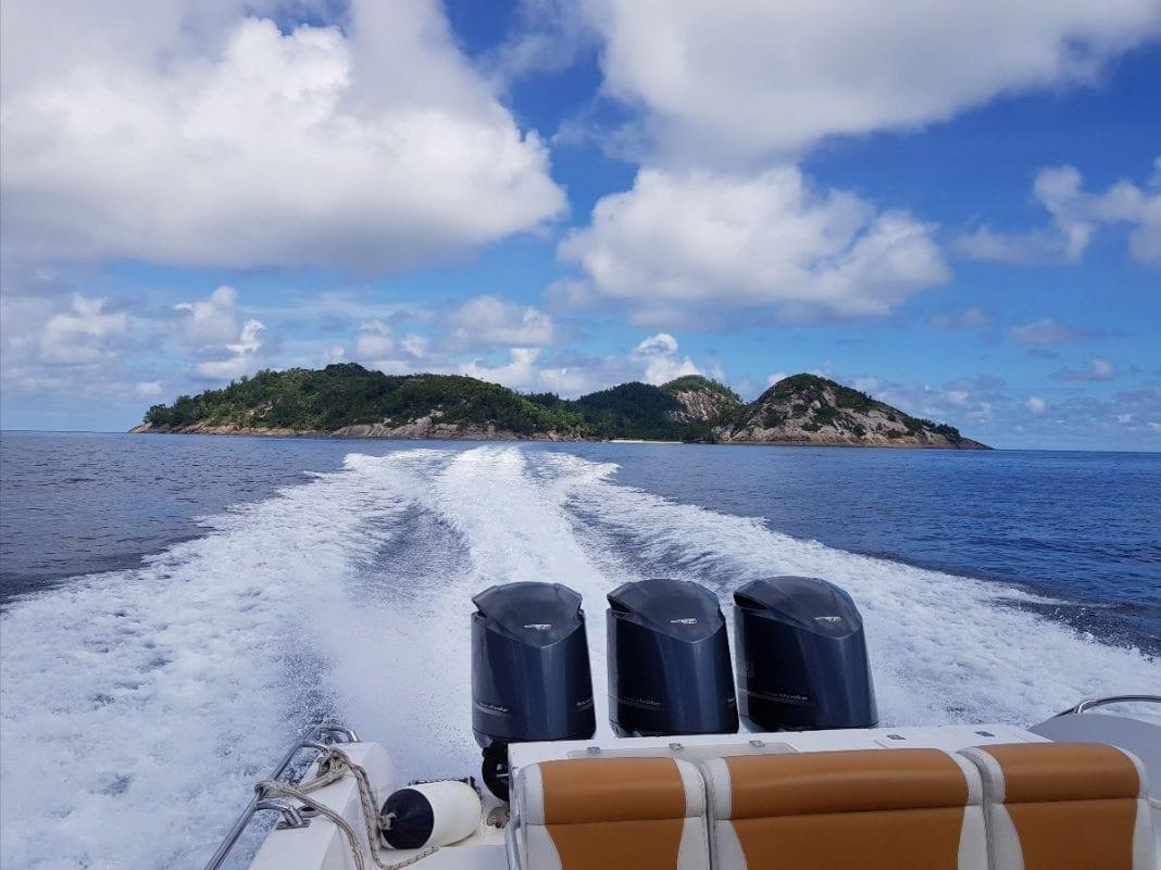 1-Inselbewohner auf den Seychellen