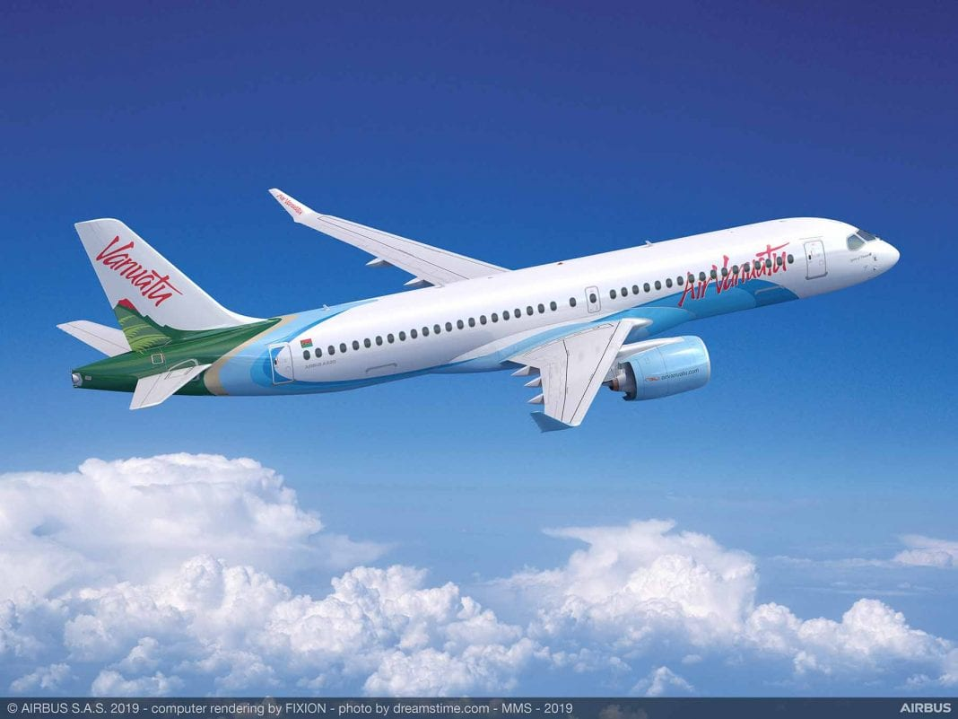 A220-300-Aire Vanuatu