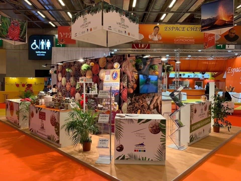 Reunion at Sagasdom 2019 at Paris Expo Porte de Versailles