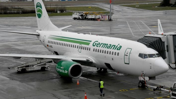Another German Airline bankrupt
