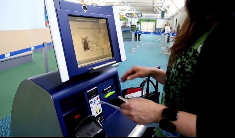 جوازات السفر الآلية