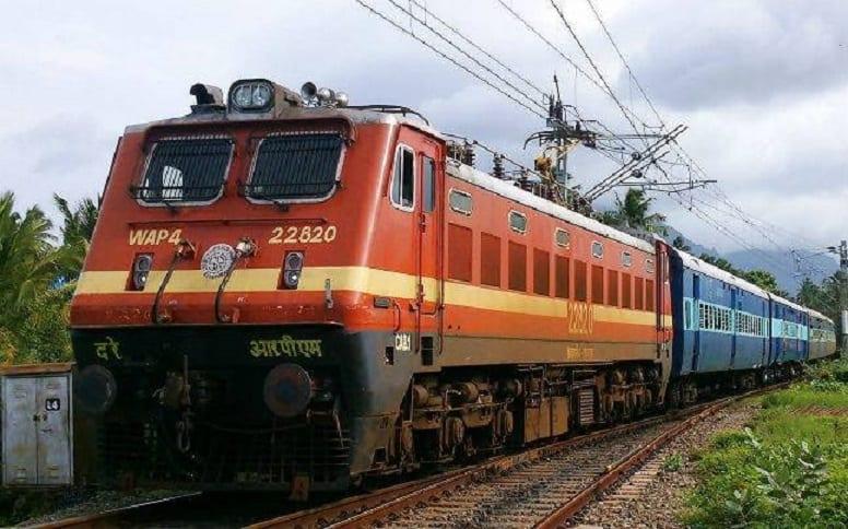 indische Zugverbindung