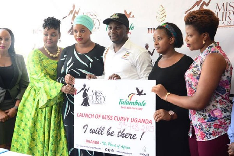 Uganda State Tourism Minister launches controversial Miss Curvy beauty pageant