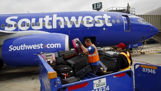 FAA investigating Southwest Airlines safety in how it calculates weight