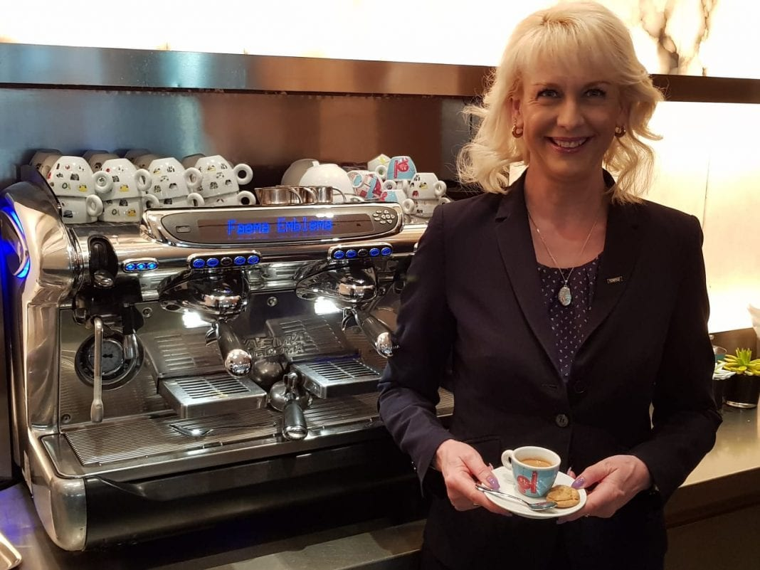 eTN Hero: Cordelia Igel, team leader at Vox Restaurant, Grand Hyatt Hotel Berlin