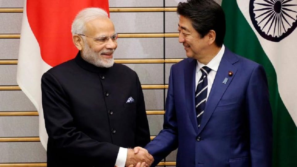 Ινδία-PM-Narendra-Modi-and-Japan-PM-Shinzo-Abe