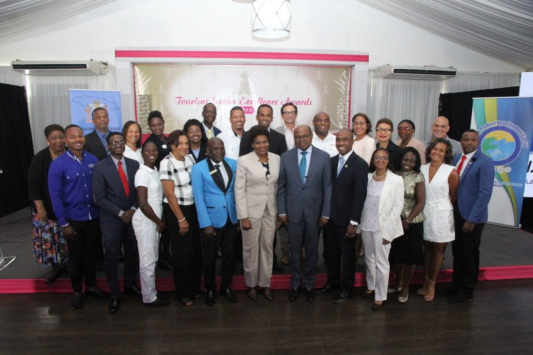 Jamaica Tourism Minister lauds Tourism Service Excellence finalists