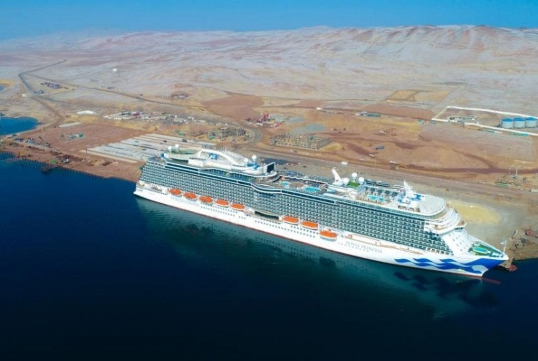 Inca city welcomed biggest cruise ship ever