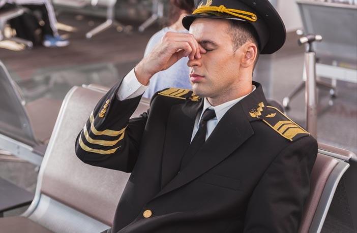 خستگی خلبان