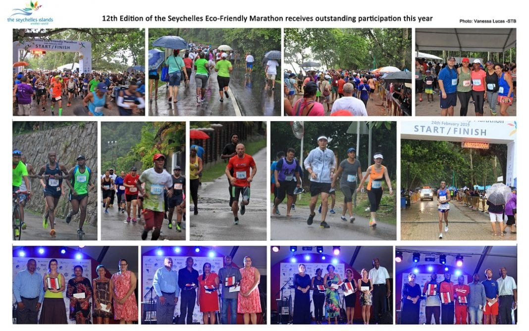 12th Edition of Seychelles Eco-Friendly Marathon receives outstanding participation this year