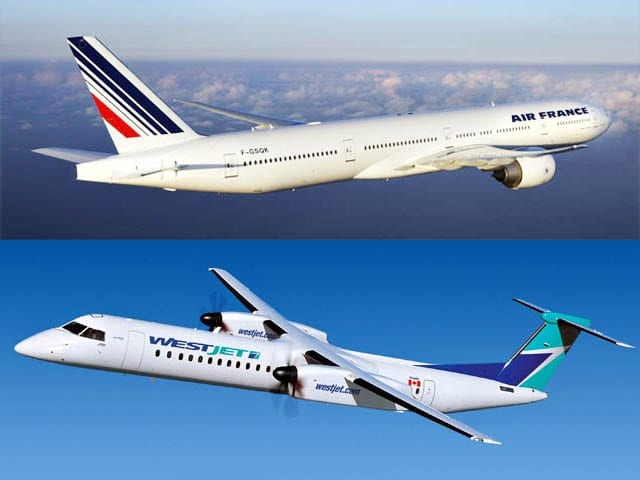 WestJet and Air France deal gives passengers access to seven cities in France, Italy and Greece