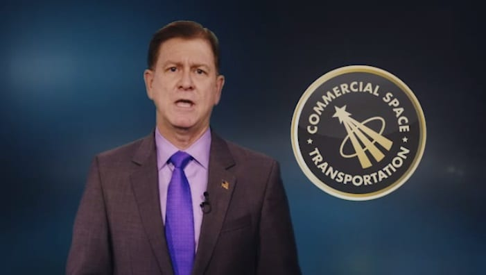 FAA: New video on the growing field of commercial space travel