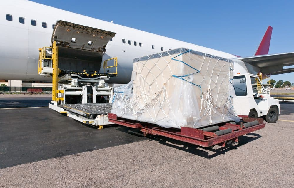 Air freight demand still spiraling down