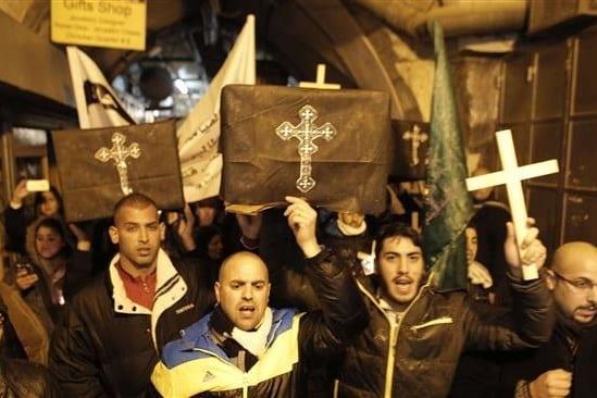 gaza-χριστιανοί