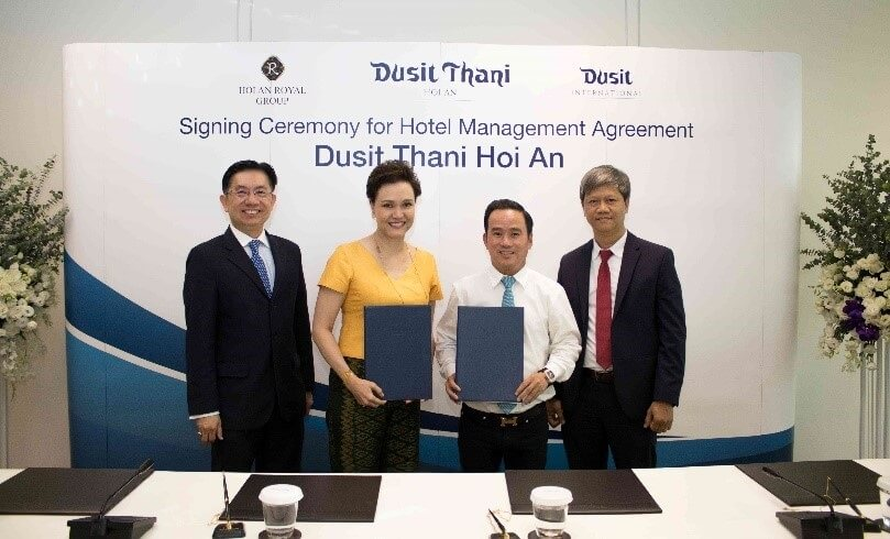 Dusit International announces its first Dusit Thani branded hotel in Vietnam