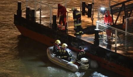 Seven tourists drown as Danube sightseeing boat collides with another ship, sinks in Budapest