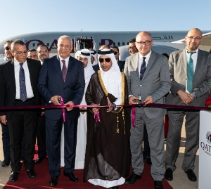 Qatar Airways inaugurates its third gateway to Morocco