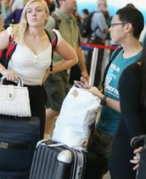 Is there a gender difference in the travel habits of Americans?
