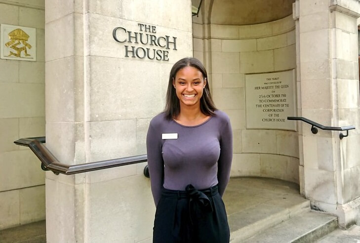 Church House Westminster welcomes new Events Coordinator